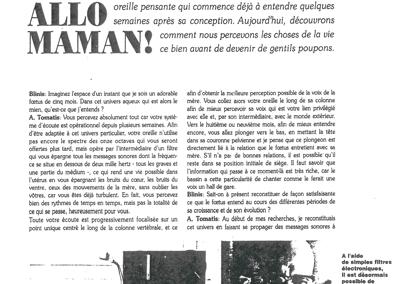 Blinis – Allo Maman ! – Mars 1990