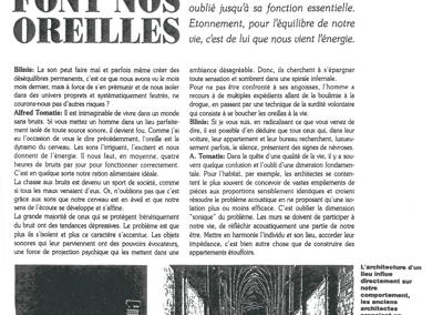 Blinis – Les murs font nos oreilles – Juin 1990
